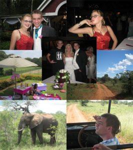 Claudia and Dave's Wedding, Mara's 5th birthday party, Ingwelala