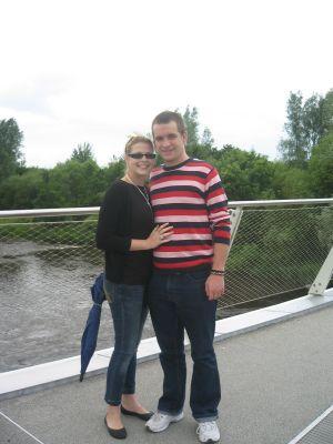 Megg Wilson & Matt Geri in Ireland