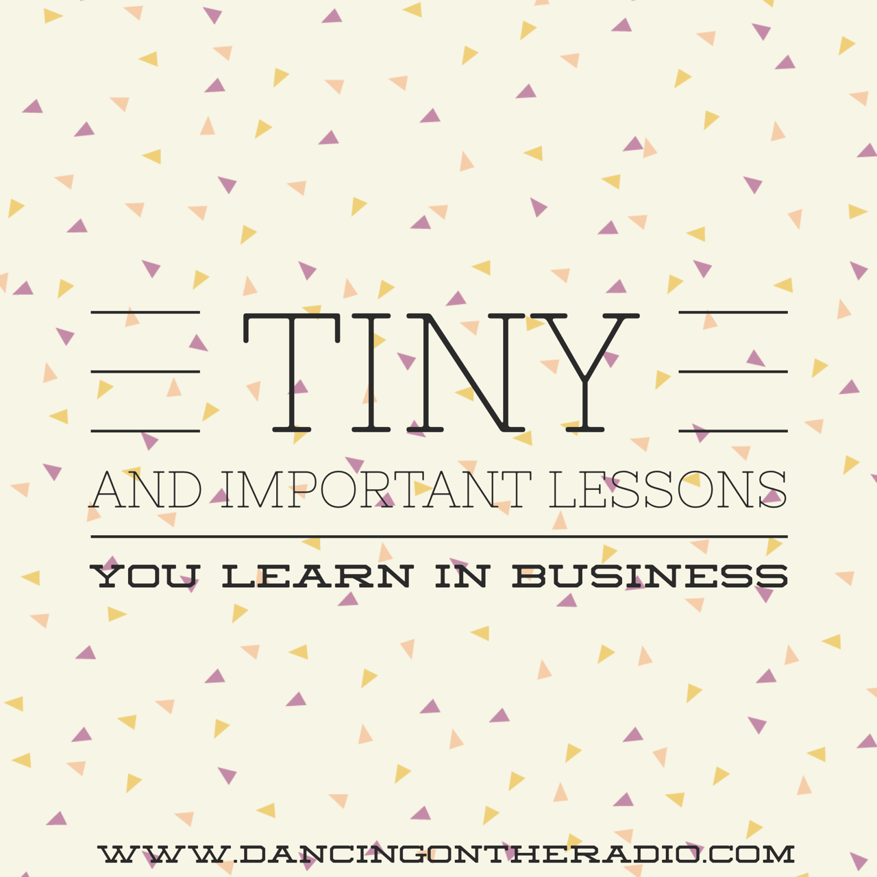 quote, important lessons you learn in business, business megg.me