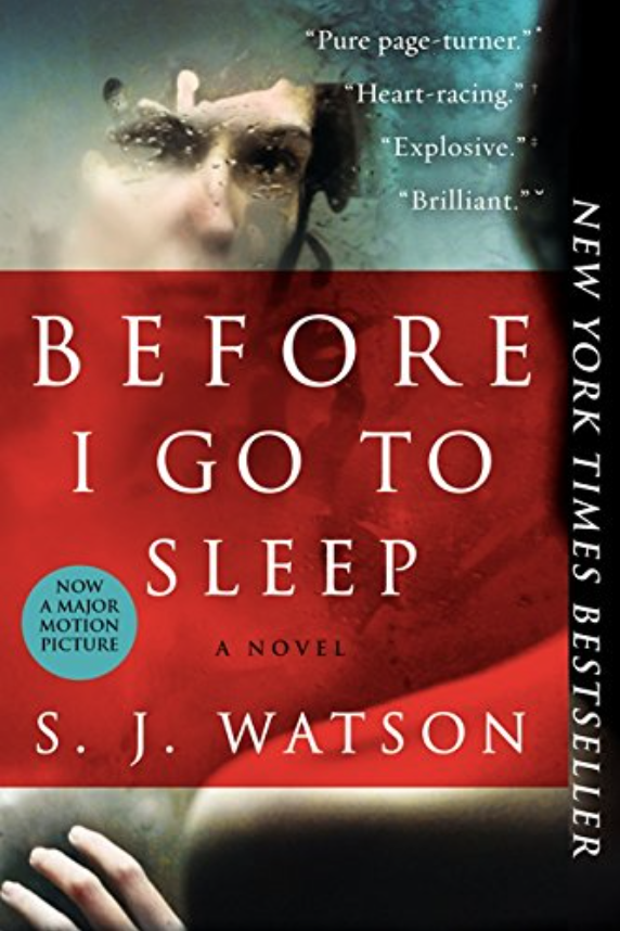 Before I go to sleep - SJ Watson