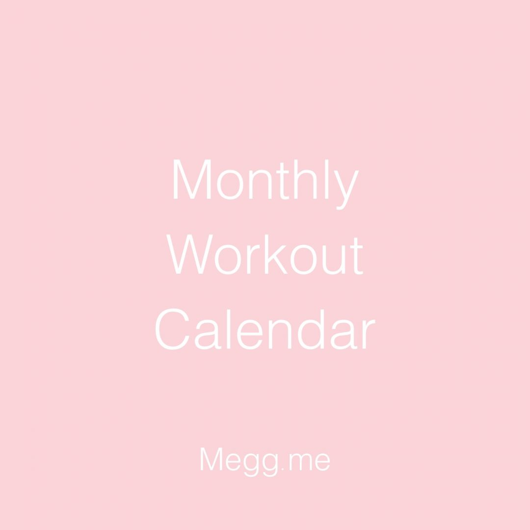march workout
