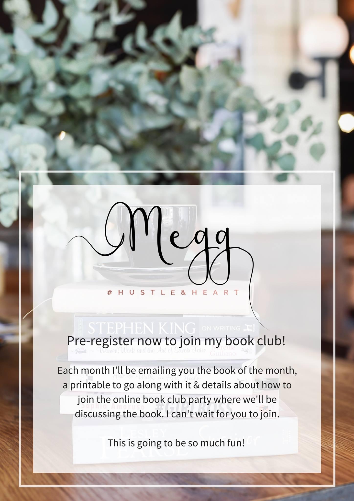 megg geri online book club