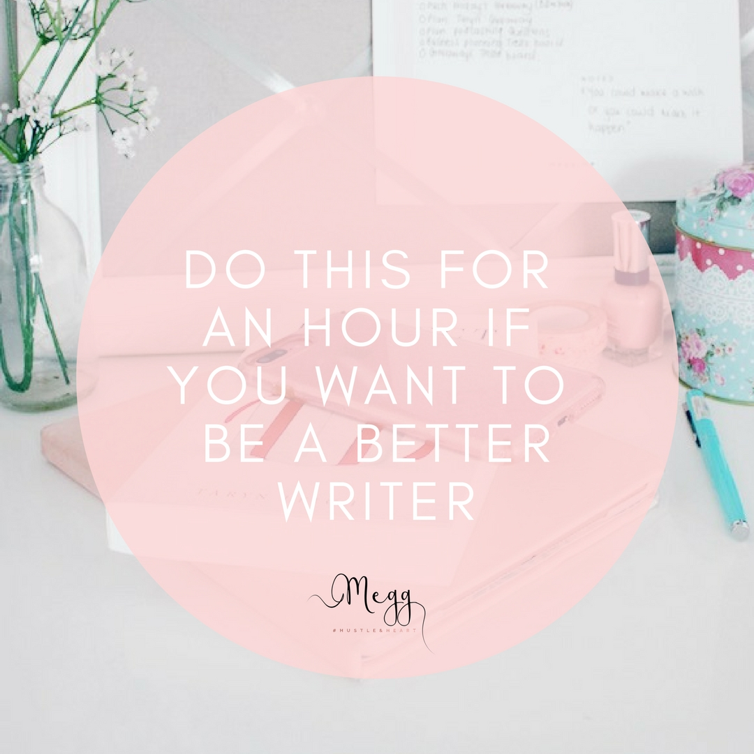 be a better writer