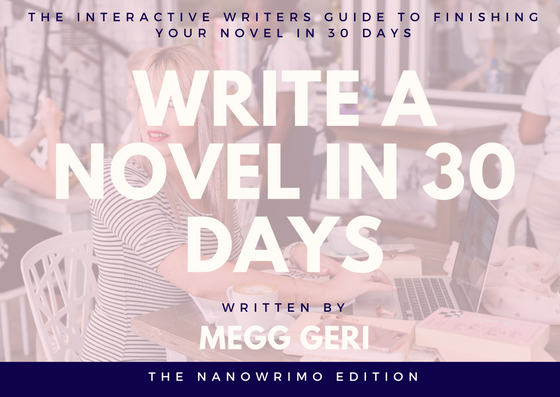 write a novel in 30 days