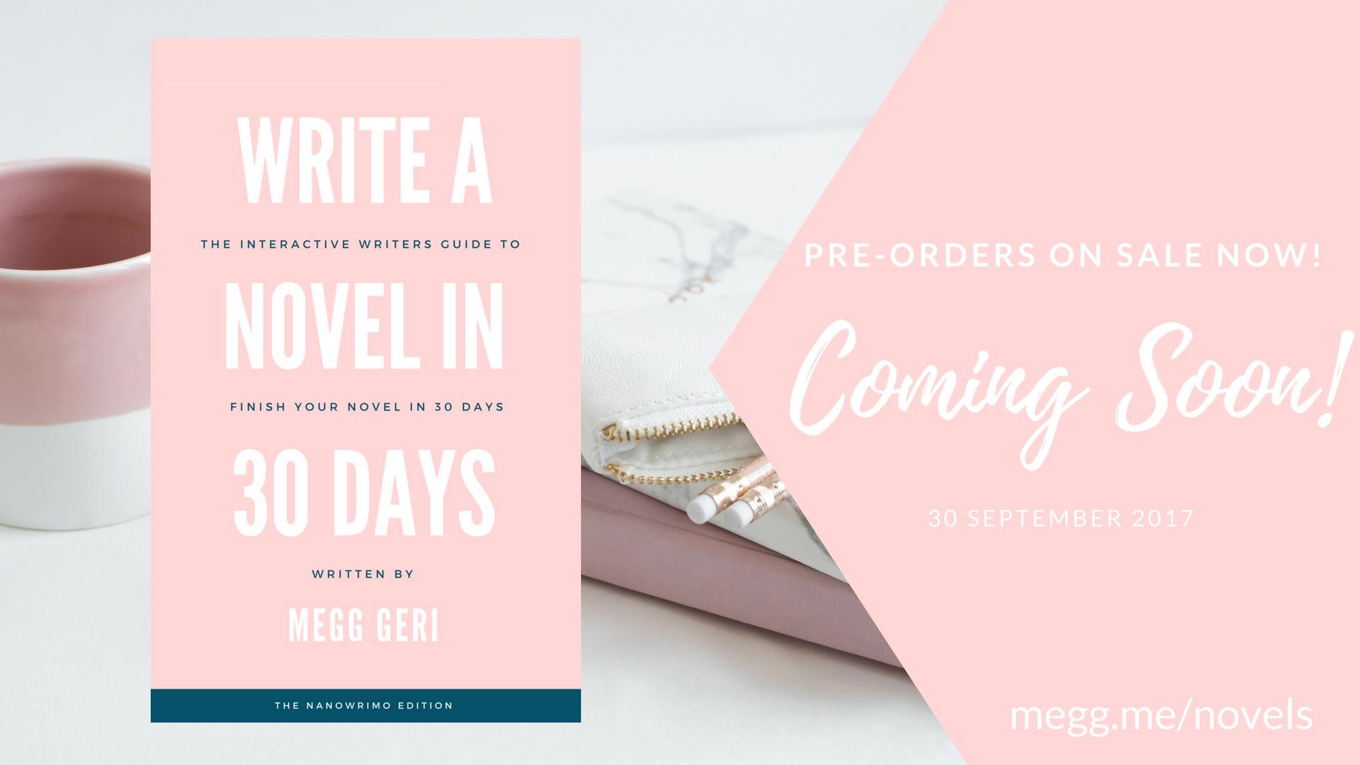 write a novel in 30 days book bonuses