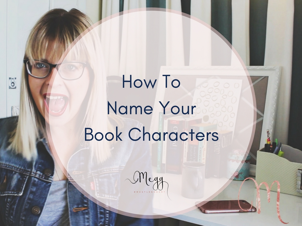 How To Name Book Characters