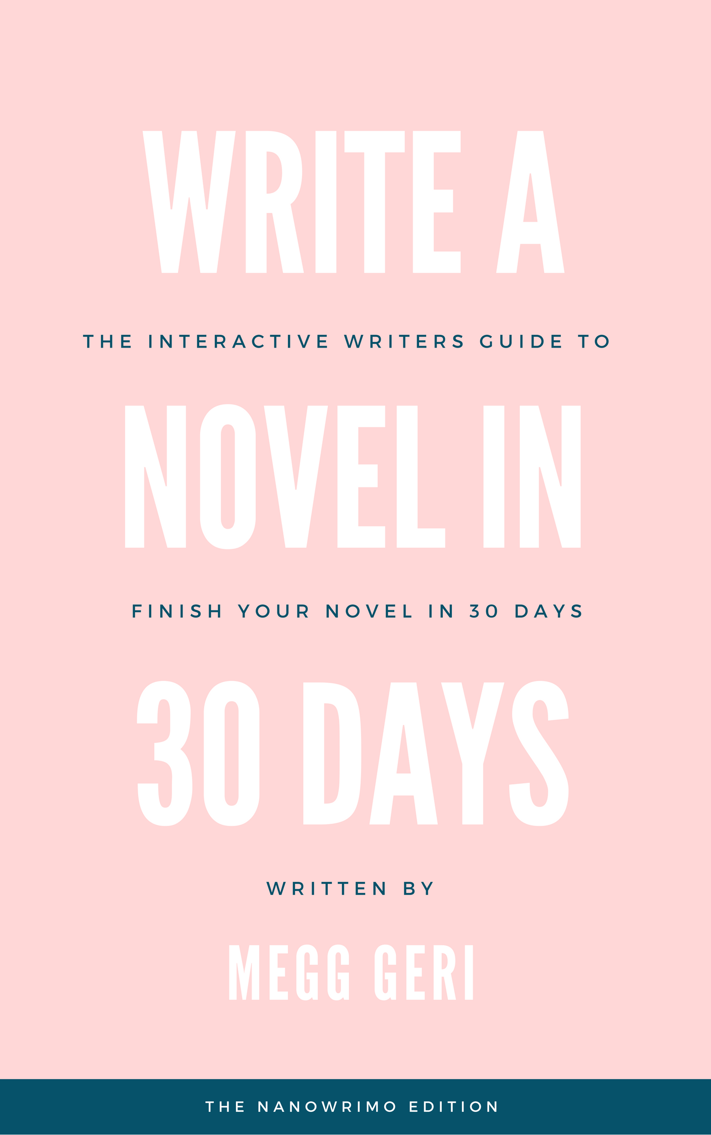 WRITE A NOVEL IN 30 DAYS ~ NANOWRIMO EDITION