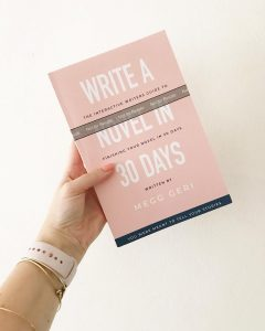 write a novel in 30 days proof copy