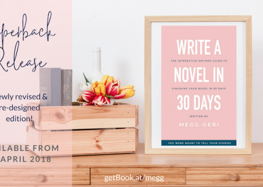 write a novel in 30 days paperback