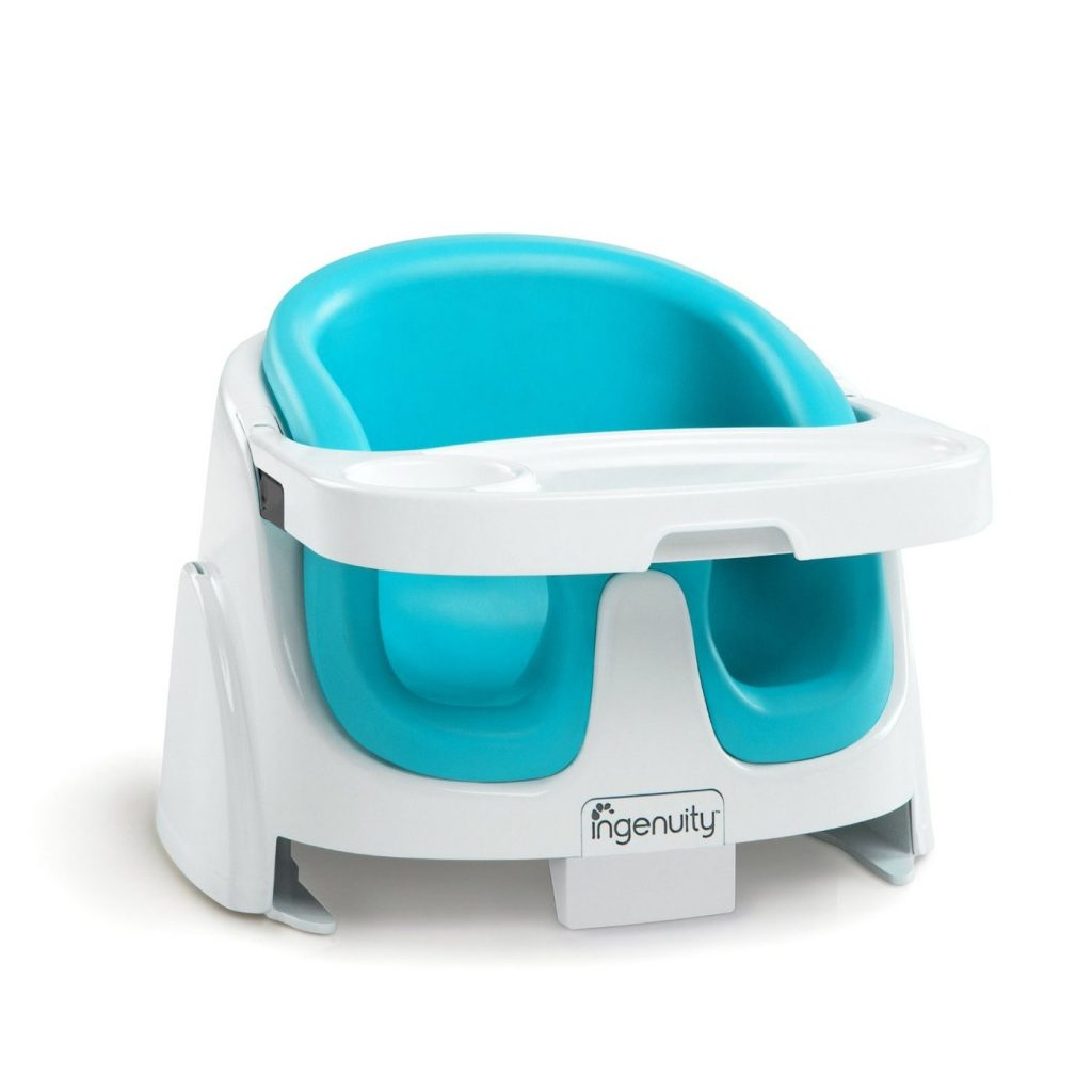 Ingenuity 2-in-1 baby booster and feeding seat