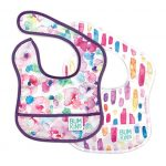 soft plastic feeding bib